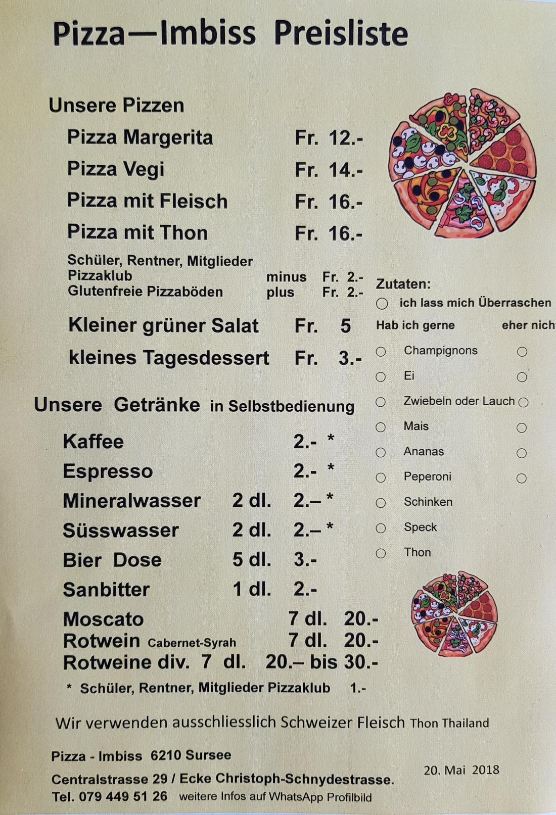 Stefanfellmann Pizza Imbiss